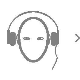 1) Put on your headphones